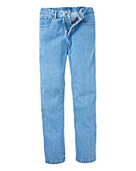 Union Blues Light Stonewash Jeans 31in