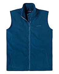 Southbay Unisex Plain Teal Fleece Gilet