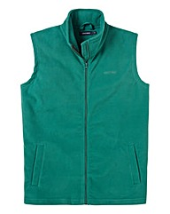 Southbay Unisex Plain Green Fleece Gilet