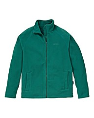 Southbay Unisex Green Zip Through Fleece