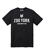 Zoo York Templeton Black T-Shirt Long