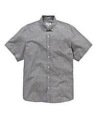 Jacamo Black Archer S/S Check Shirt L