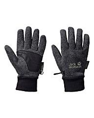 Jack Wolfskin Storm Lock Knit Gloves