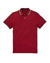 Firetrap Red Ronay Polo Long
