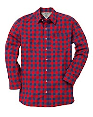 Jacamo Red L/S Western Shirt Long