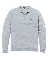 Voi Mens Long Sleeve Polo Top Long