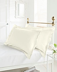 Easy Care Plain Dyed Oxford Pillowcases