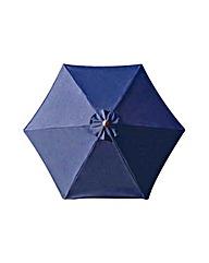 Garden Parasol 2m - Blue.