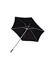 Garden Parasol 2.1m - Black.