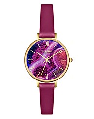 Lola Rose Ladies Purple Dial Watch