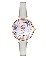 Lola Rose Ladies Grey Strap Watch