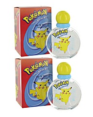 Pokemon 50ml EDT Spray Duo Set