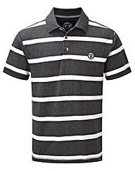 Tog24 Wilson Stripe Mens Polo Shirt
