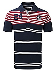 Tog24 Vaughn Stripe Mens Deluxe Polo