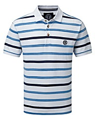 Tog24 Space Stripe Mens Polo Shirt