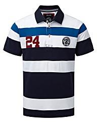 Tog24 Clarke Stripe Mens Deluxe Polo