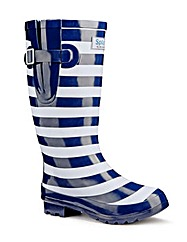 Splash Miss Stripey EEE Wide Wellies