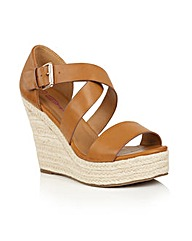 Dolcis Heidi espadrille wedge sandals