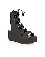 Dolcis Voletta lace up platform sandals