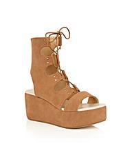 Dolcis Voletta lace up platform sandals