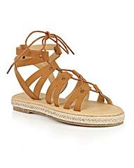 Dolcis Vera espadrille gladiator sandals