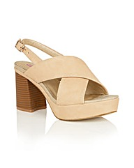 Dolcis Vivian high heel platform sandals