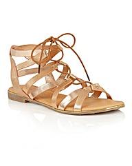 Dolcis Wyomie flat gladiator sandals