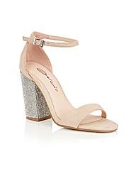 Dolcis Tiara block high heeled sandals