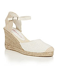Dolcis Sommer espadrille wedge sandals