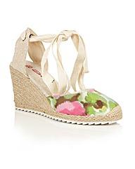 Dolcis Happy espadrille wedge sandals