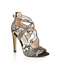Dolcis Lexi high heeled strappy sandals