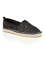 Dolcis Batice espadrille slip on shoes