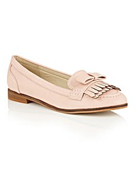 Dolcis Jessica bow detailed loafers