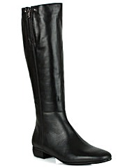 Georgio Venuti Black Knee Boot