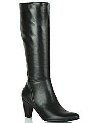 Lavorazione Artigiana Black Knee Boot