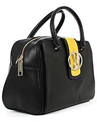 Versace Jeans Black Contrast Bowling Bag