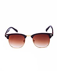 Brown Frame Sunglasses