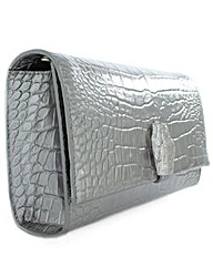 Class Cavalli Pewter Shoulder Bag