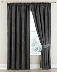 Clara Chenille Pencil Pleat Curtains