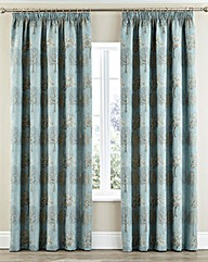 Arden Pencil Pleat Lined Curtains