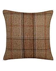 Highland Check Filled Cushion