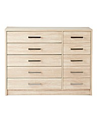 Canyon 5+5 Drawer Chest