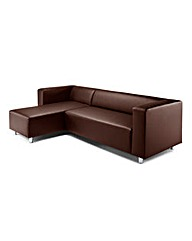 Taylor Faux Leather Corner Group