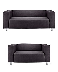Taylor Fabric 3 and 2 Seater Suite
