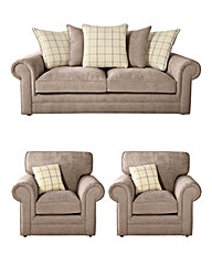 Orkney Three Seater plus Two Chairs