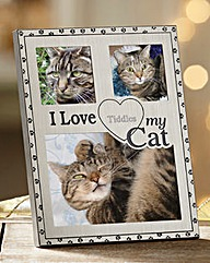 Personalised Cat Frame