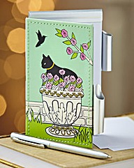 Whiskers & Paws Notebook & Pen