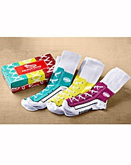Ladies Sneaker Socks Set
