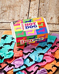 Ladies Dog Odd Socks