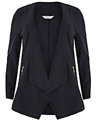 emily Waterfall Zip Jacket